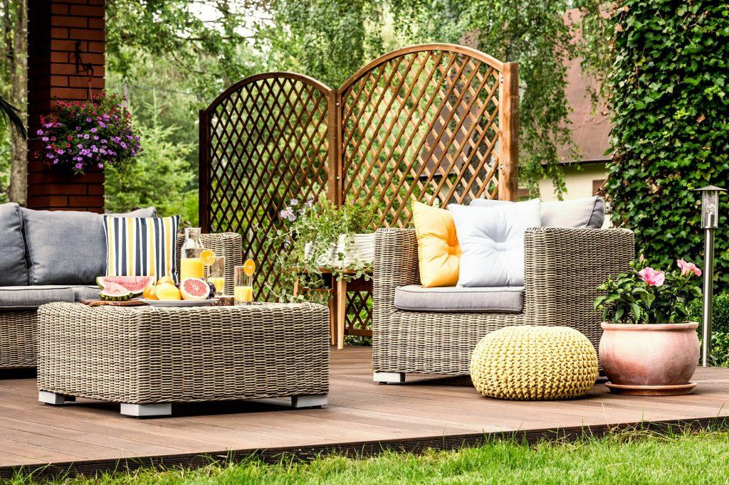 meubles de jardin artisanaux